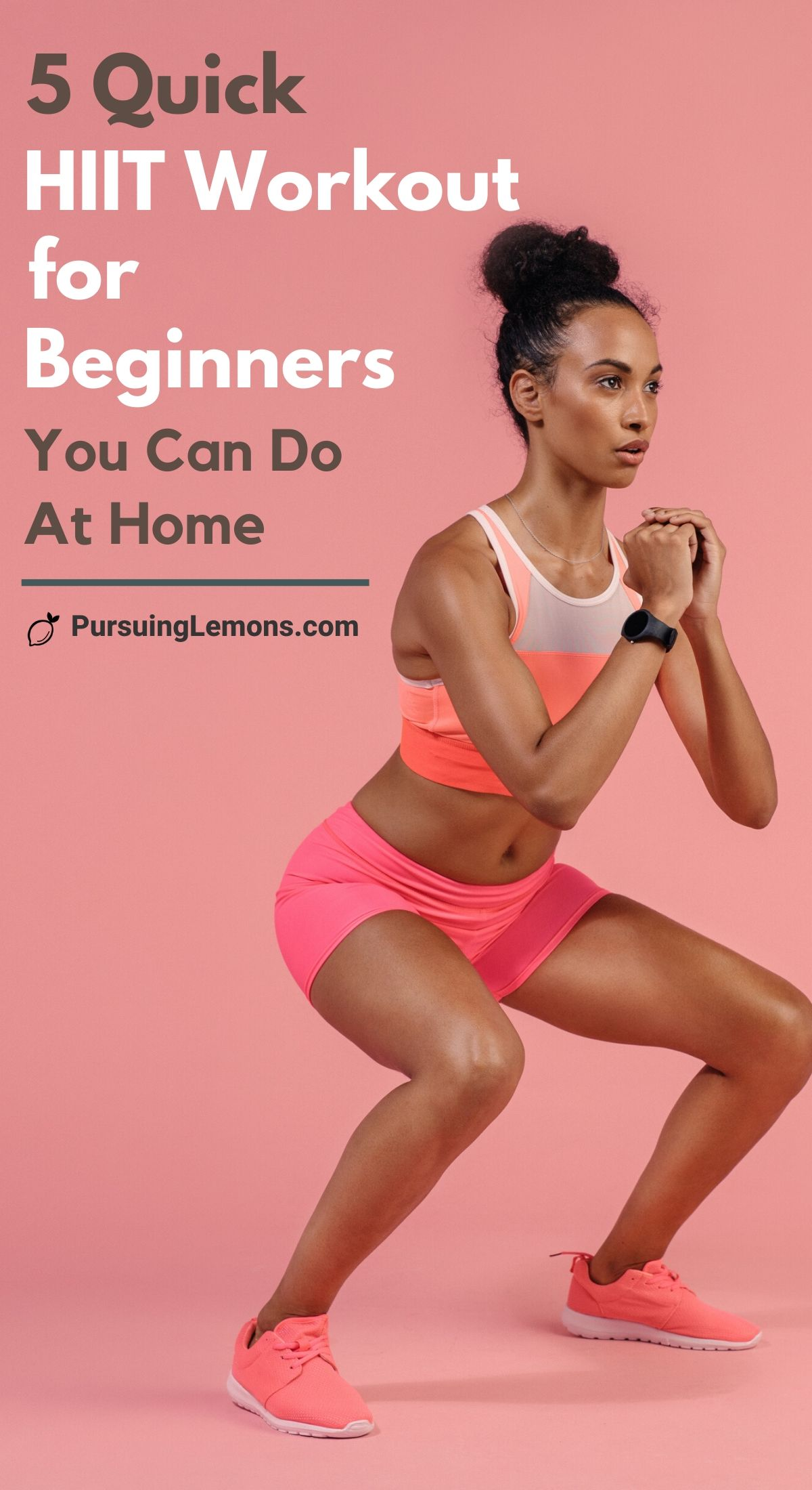 5 Quick HIIT Workouts For Beginners to start losing weight! You can do these workouts at home or at the gym, these workout routines will help you burn belly fat and shed those pounds in no time. The high intensity a combination of cardio and strengthening exercises which makes these workouts very practical. These high intensity interval training is beginner friendly and will help you burn calories even after you are done with the workout. #HIIT #hiitworkout #workoutsathome