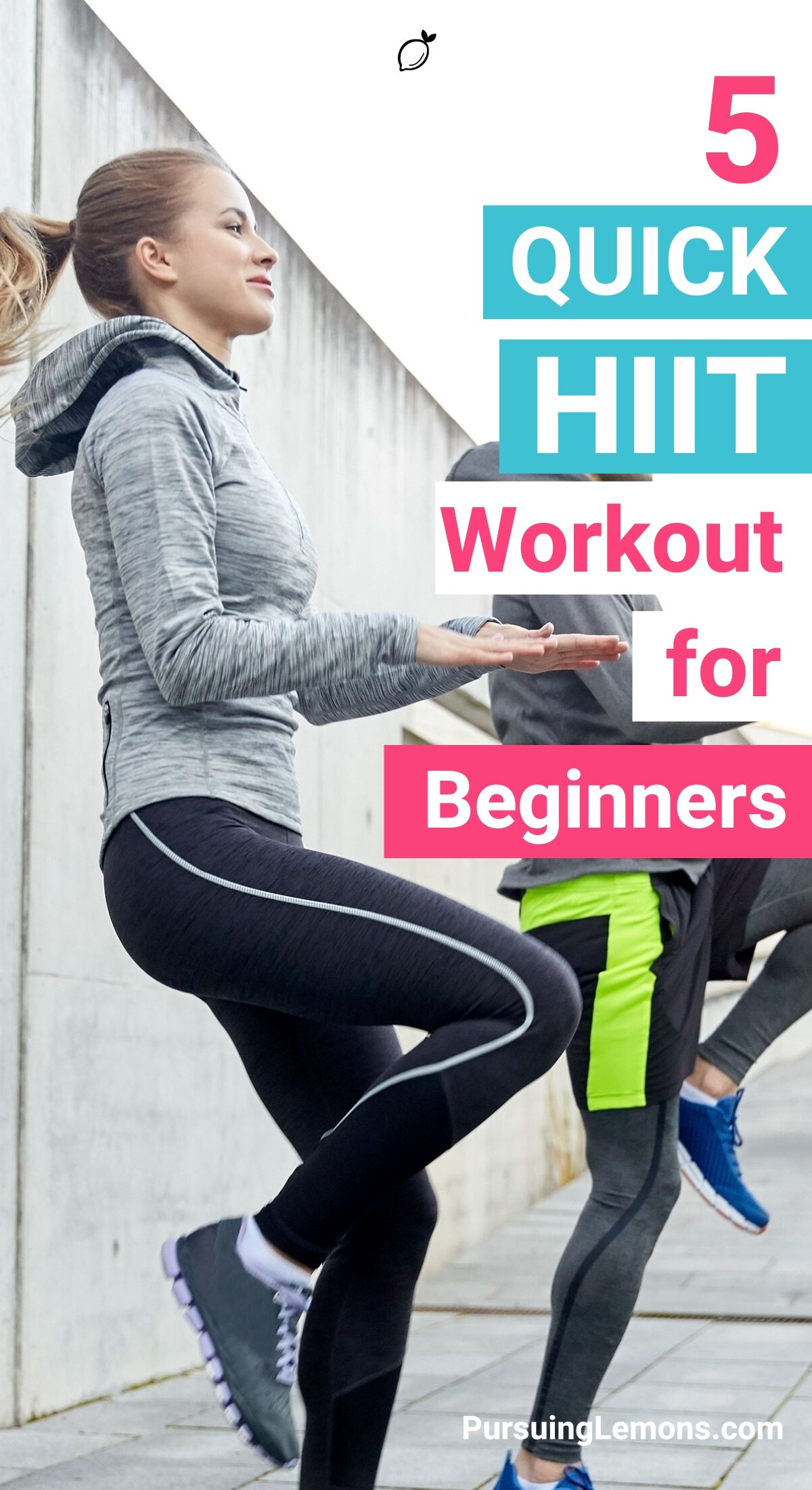 5 Quick HIIT Workouts For Beginners | Are you trying to lose weight or just improve your overall fitness? Here are some really effective HIIT workouts for beginners to lose weight and build those muscles. #HIIT #Workouts #workoutathome