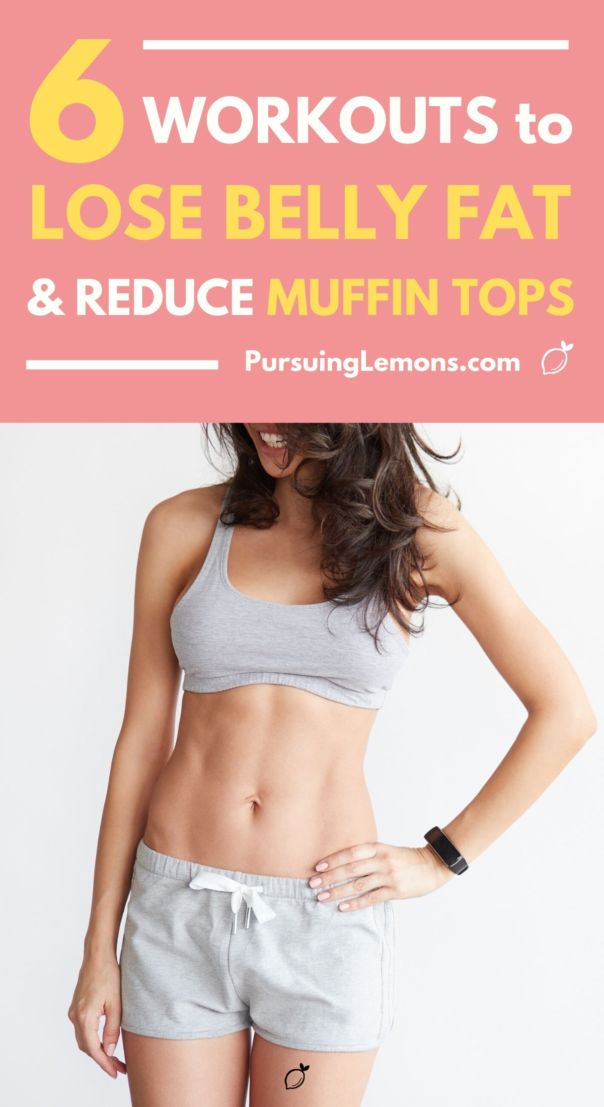 6 Workouts To Lose Belly Fats and Reduce Muffin Tops | Lose that stubborn body fat with these workout routines today! Here are some core strengthening exercises you can do at home and start losing weight! #workout #workoutathome #fitness