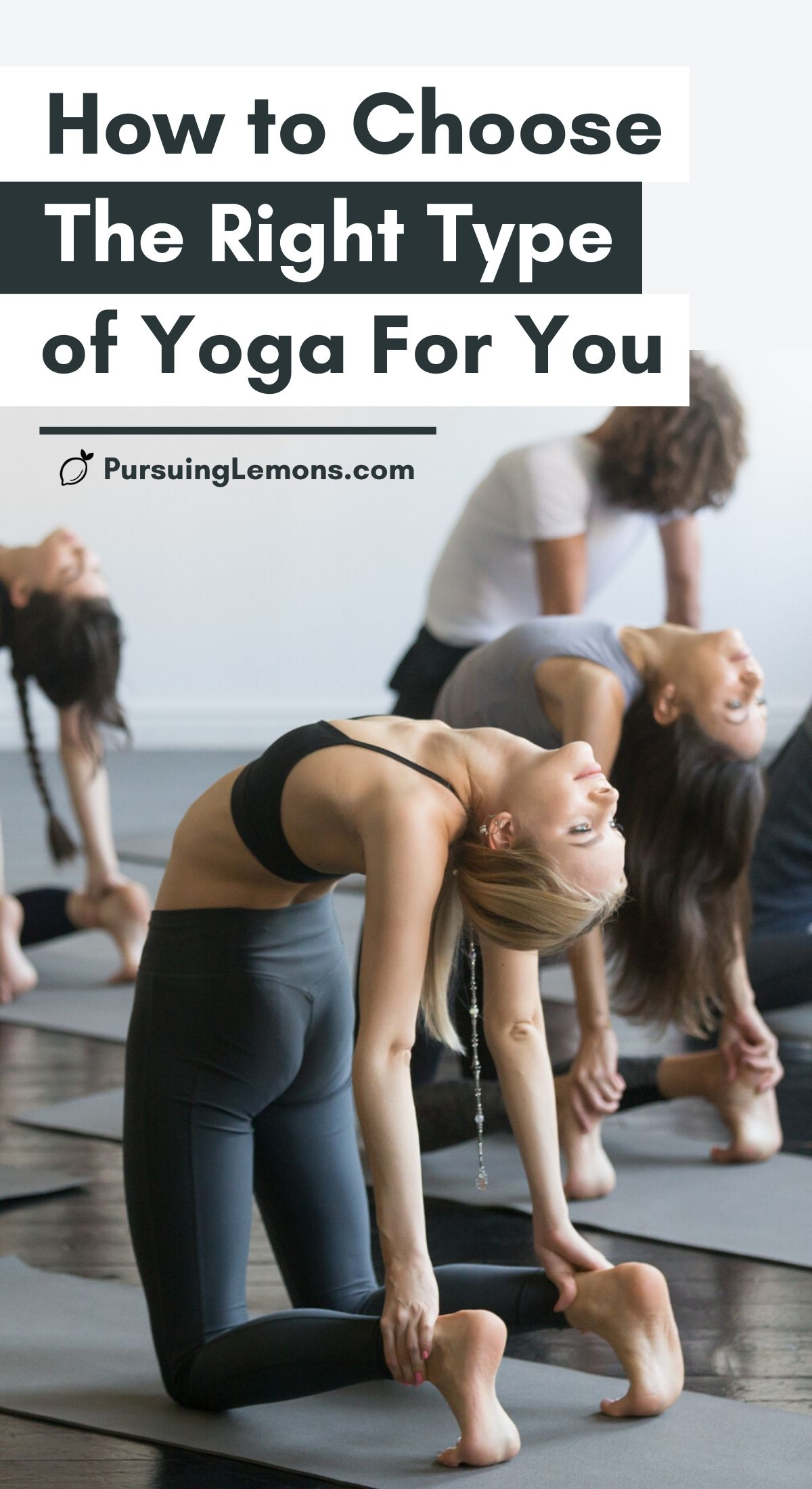 Types of Yoga: How to Choose The Right Type of Yoga For You   Are you a yoga beginner? Here's a comprehensive guide to some of the most popular styles of yoga. By having a good understanding of each type of yoga style, you'll be able to choose which yoga discipline and yoga class suit you best.  #yoga #typesofyoga #yogastyles #yogadisciplines