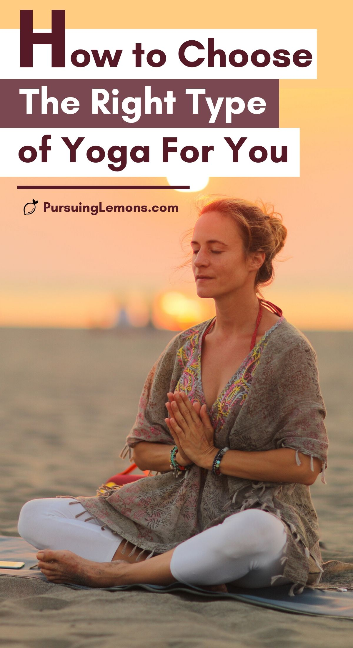 Yoga Disciplines: How to Choose The Right Type of Yoga For You   Want to take up yoga? Then you need to read this complete guide of the most popular styles of yoga out there. This will help shed some light on each type of yoga and who it is suitable for. Once you understand a little bit of all the types of yoga, you can surely make a decision on which one is for you. #yoga #yogastyles #yogadisciplines #typesofyoga