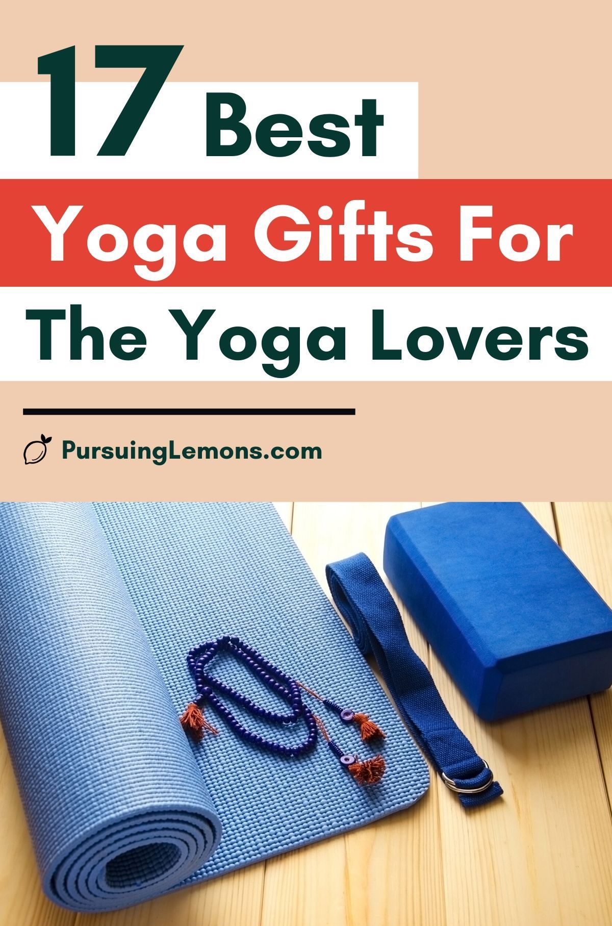 Best Yoga Gifts for the Yoga Lovers in Your Life : gifts for yoga, yoga gifts ideas, yoga accessories gift ideas, yogi gift ideas, gift idea for yoga lover.  If you're looking for a gift for yoga lover, start with this list of yoga gift ideas! You may just find the perfect yoga presents in this yoga gift guide. #yogagifts #yogagiftideas #yogapresents
