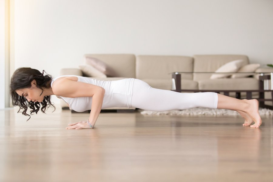 chaturanga for arm - Yoga Routine to Get Strong and Toned Arms