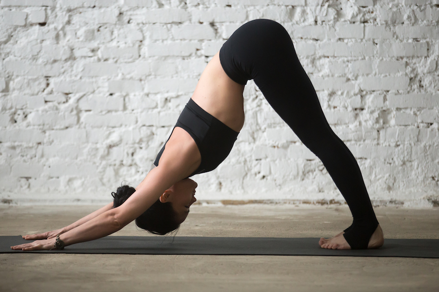 downward facing dog for arm - Yoga Routine to Get Strong and Toned Arms
