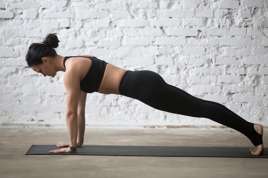 plank for arm - Yoga Routine to Get Strong and Toned Arms