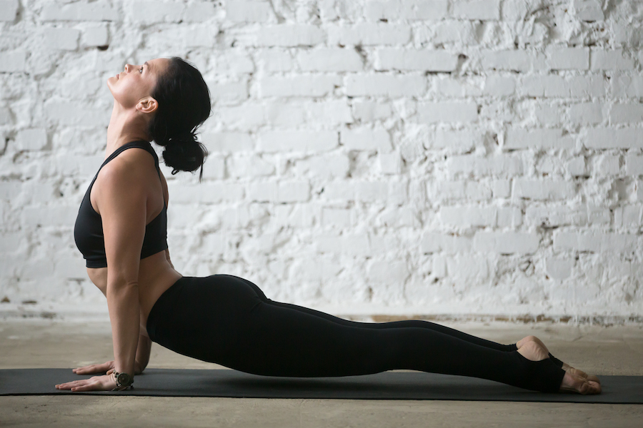 upward facing dog for arm - Yoga Routine to Get Strong and Toned Arms