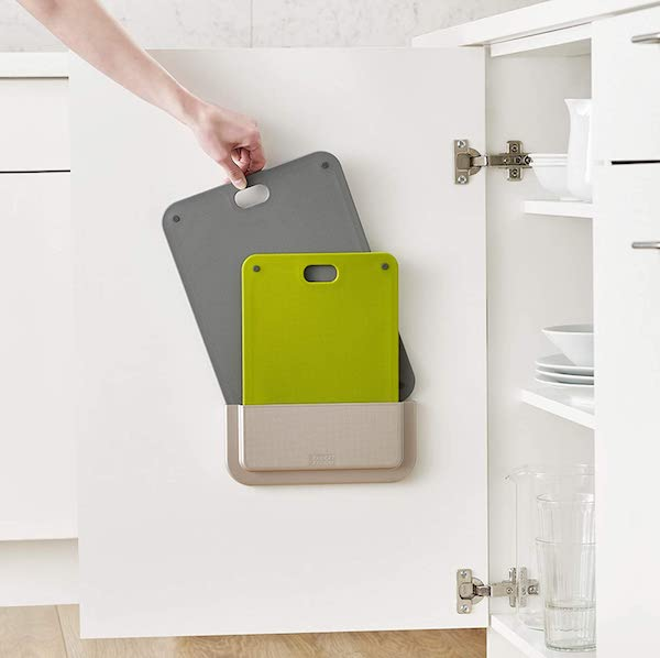 Door Mounted Chopping Boards - organize your kitchen