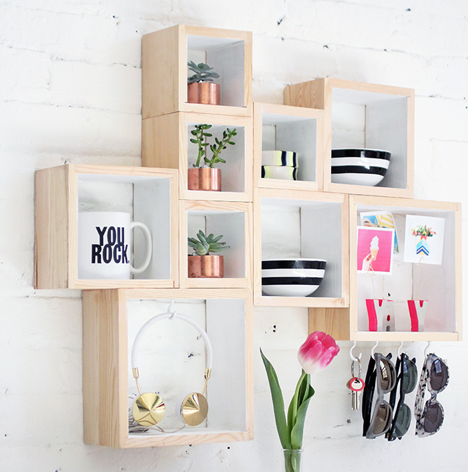 boxholder - bedroom organization ideas