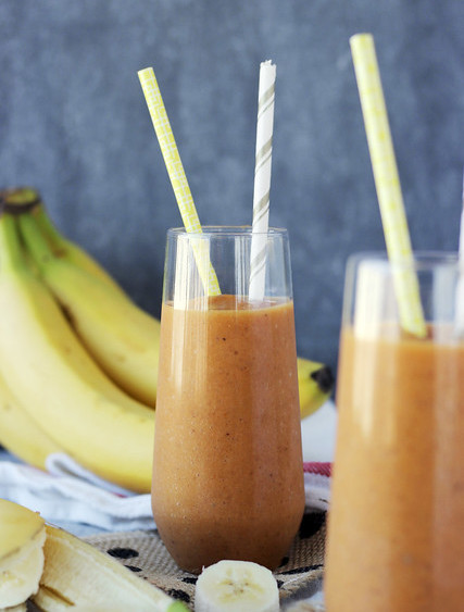 pumpkin banana smoothie - Weight Loss Smoothie Recipes