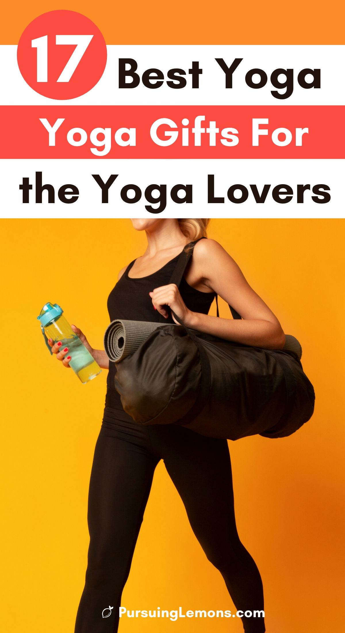 Perfect for the yoga lovers in your life! This yoga holiday gift ideas include everything from cute leggings to non-slip mat to cute yoga socks, you can definitely find something in this list for your yoga friend! If you don't know what to get, just get a yoga mat! #yogagiftguide #yogagifts #yogagiftideas