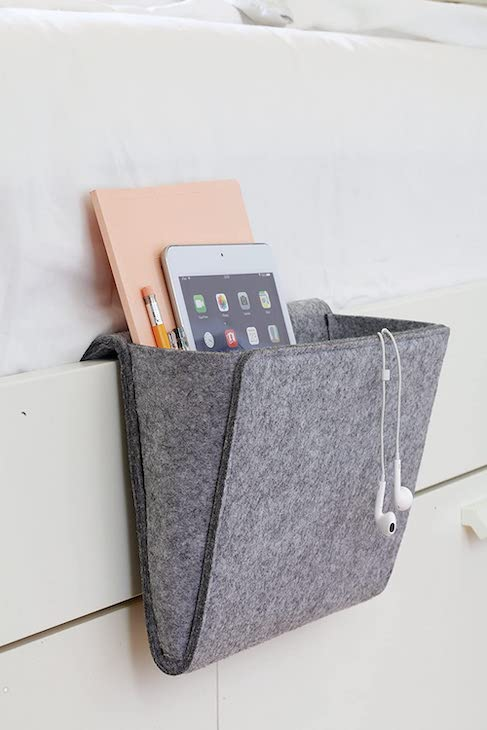 Bedside Caddy for rv - organization ideas for your camper or RV