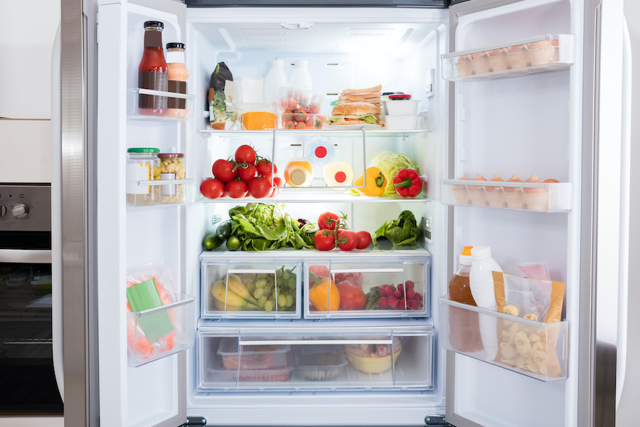 Clean your fridge every week
