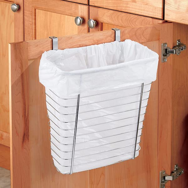 Hide Your Trash Can - organization ideas for your camper or RV