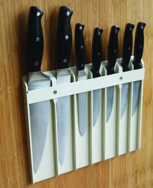 Knife Safe - organization ideas for your camper or RV