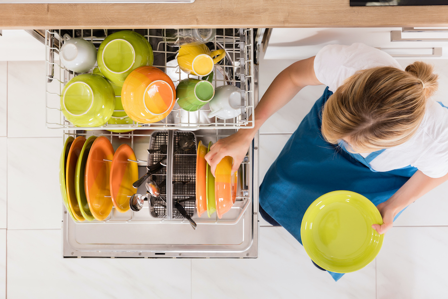 Load The Dishwasher Before Bedtime - habits of people with organized homes