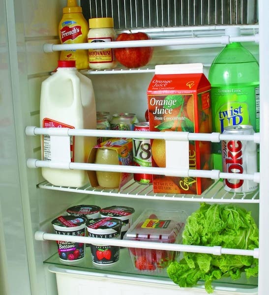 RV Refrigerator Bar - organization ideas for your camper or RV
