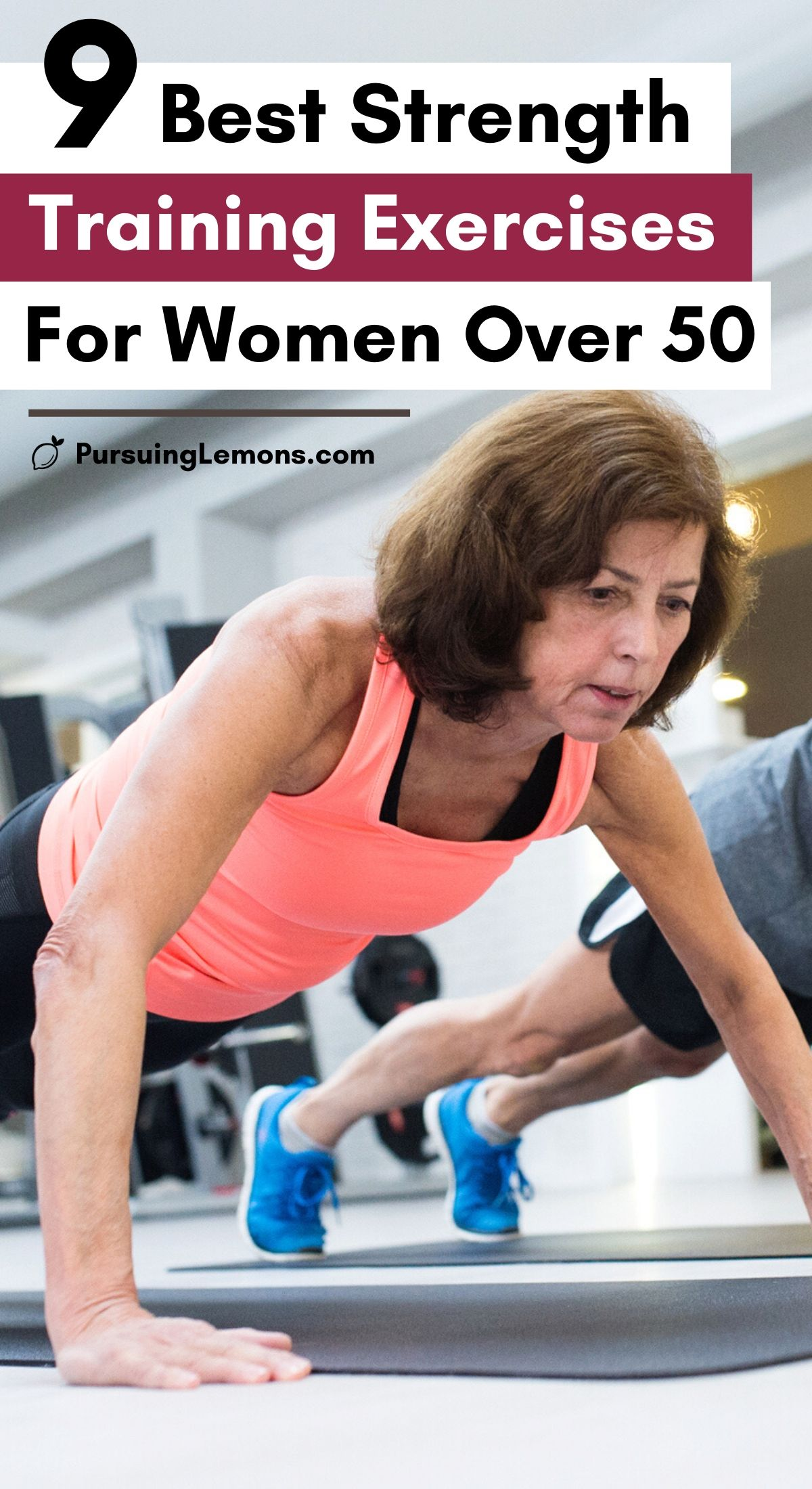 9 Best Strength Training Exercises for Women Over 50 | The secret to anti-aging magic? Strength training.  Lift Weights | Beginner | Full Body | At home | Must do