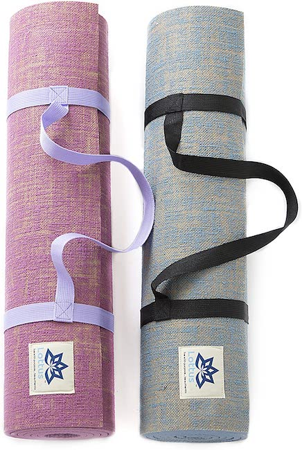 Lottus Life Jute Yoga Mat - best eco-friendly yoga mats