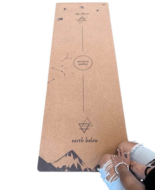 urbivore cork yoga mat - best eco-friendly yoga mats