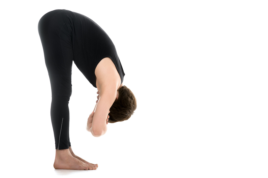 Standing Forward Bend - How To Get Flexible At Age 40