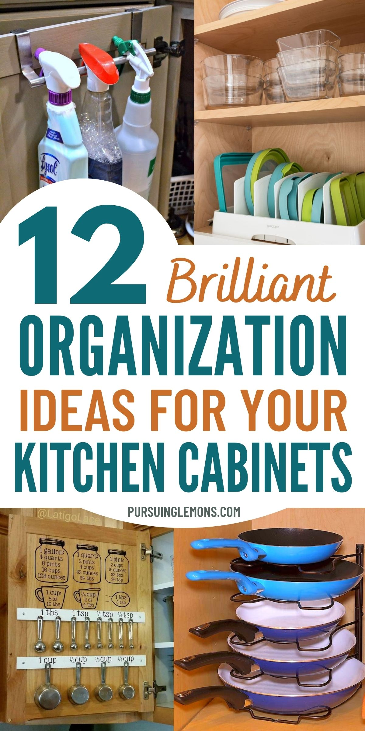 Are you ready to get your kitchen cabinets organized? See all our proven kitchen cabinets organizing tips and ideas now! kitchen organization ideas cabinets | kitchen organizing cabinets | kitchen organization cabinet cupboards | how to organize kitchen cabinets | how to organize kitchen cupboard #organization #organizekitchen
