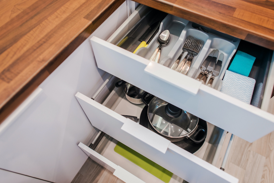 12 Brilliant Ways To Organize Kitchen Cabinets